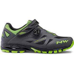 Northwave Spider Plus 2 Shoes Herren anthra/green